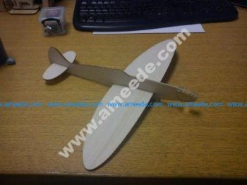 Balsa Spitfire Glider