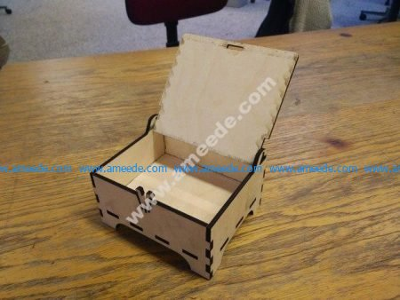 Box with Lid Laser Cut