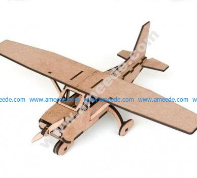 Laser Cutting Airplane