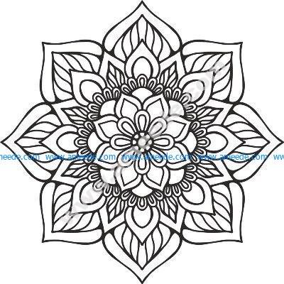 Mandala Indian Free Vector