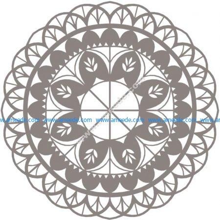 Mandala Floral Mandala Flower Vector