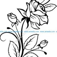 Rose Interior Design Free Vector
