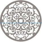 Stylized Vector Mandala Ornament