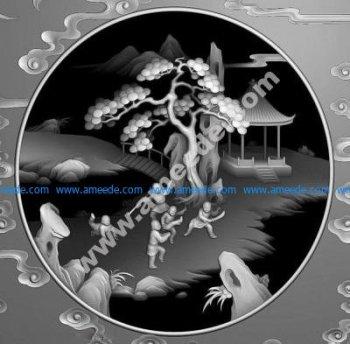 3D CNC Grayscale Image BMP