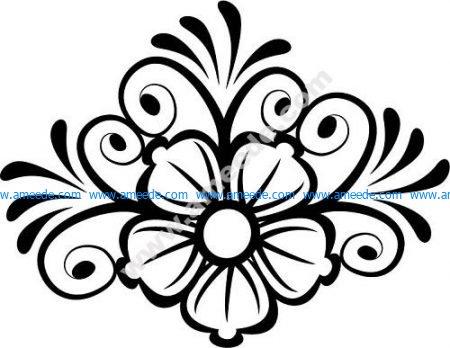Decor Flower Vector