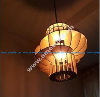 Lantern on the ceiling