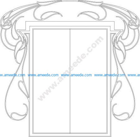 Picture border for book cover