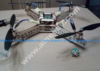 QUADCOPTER DRONE CUT LASER