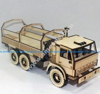 assembly model of truck loading