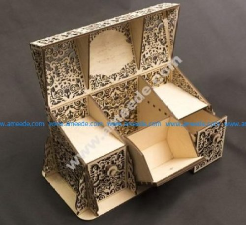 jewelry box assembly model