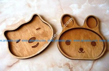 Children's Plates Laser Engraved