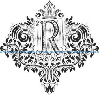 Decorative Letter Set R