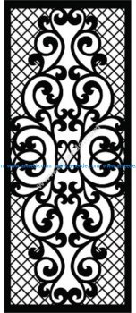 Decorative Screen Pattern 10