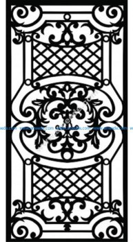 Decorative Screen Pattern 14