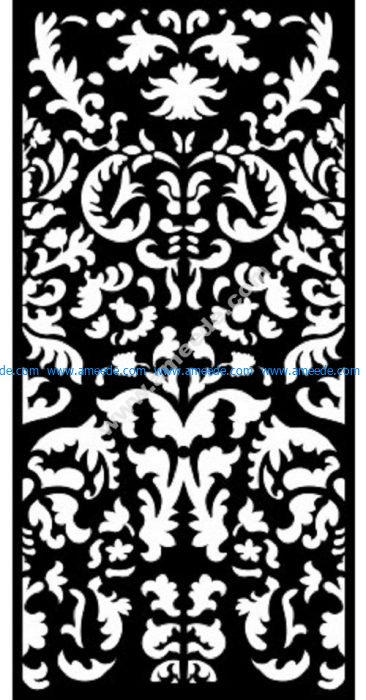 Decorative Screen Pattern 17