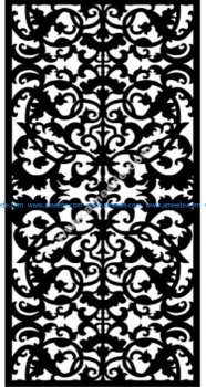 Decorative Screen Pattern 18