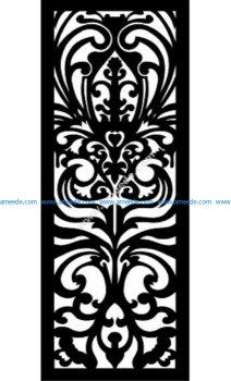 Decorative Screen Pattern 19