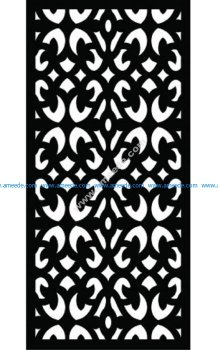 Decorative Screen Pattern 20