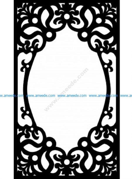 Decorative Screen Pattern 23