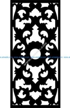 Decorative Screen Pattern 30