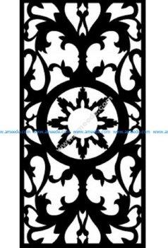 Decorative Screen Pattern 32