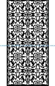Decorative Screen Pattern 34