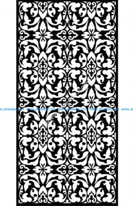 Decorative Screen Pattern 34