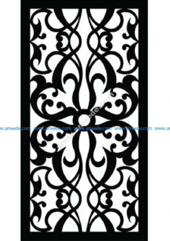 Decorative Screen Pattern 40