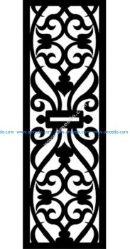 Decorative Screen Pattern 41