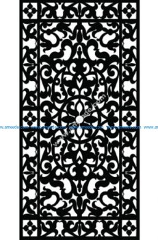 Decorative Screen Pattern 43