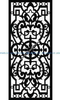 Decorative Screen Pattern 44
