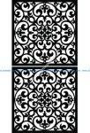 Decorative Screen Pattern 46