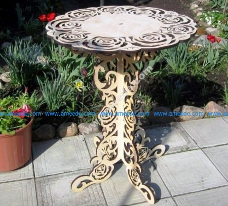 Home Decoration Ornamental Round Table