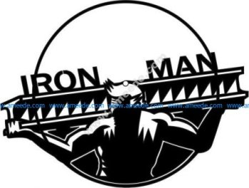 Iron Men Clock