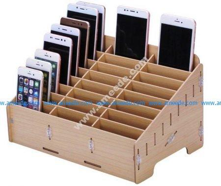 Laser Cut Rack for Mobile Phones