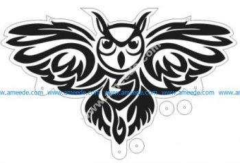 Owl Laser Cut