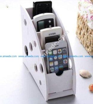 Phone Remote Control Organizer Holder