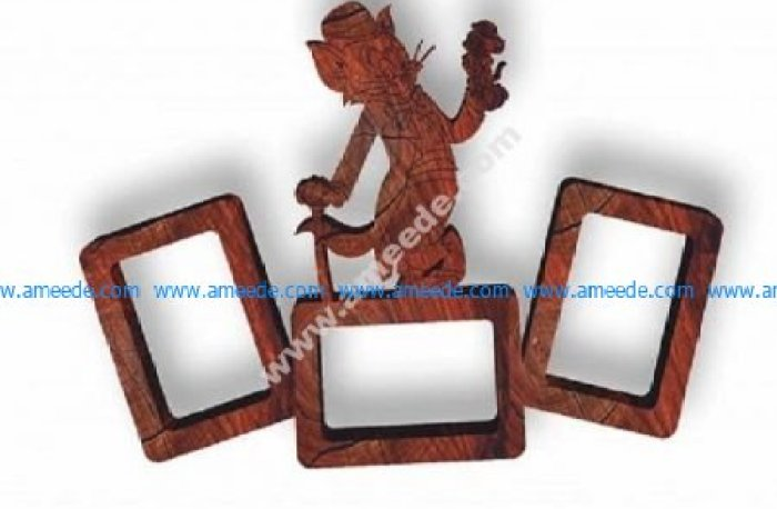 Photo frame tom and jerry model