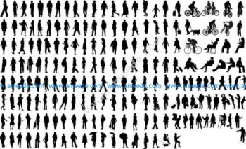 Silhouettes of Common People