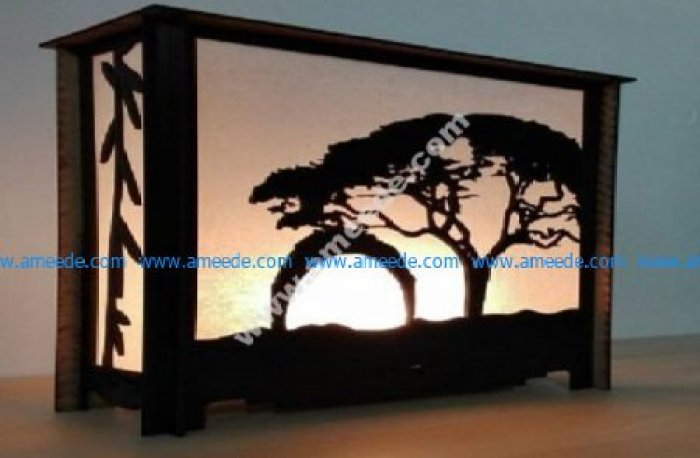 Table lamp Savanna