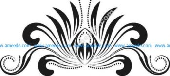 The pattern of prey plants