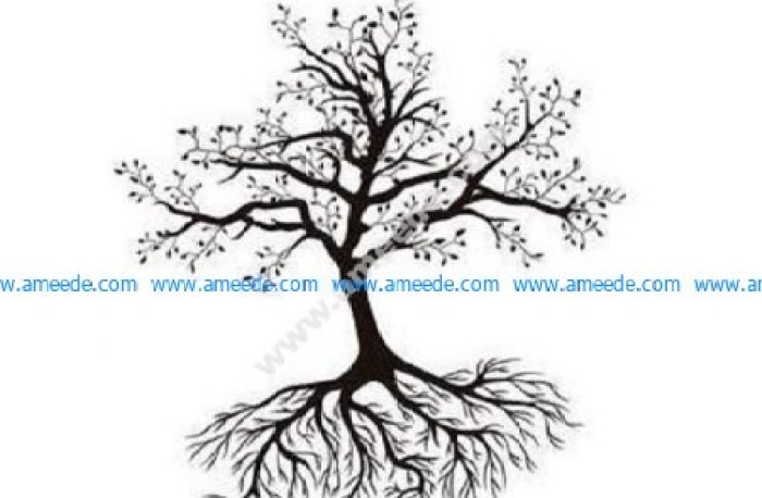 Tree branch roots