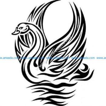Tribal swan one