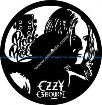 clock of music ROCK