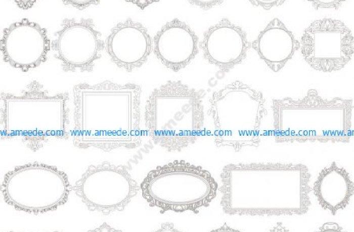 cnc frame laser frame