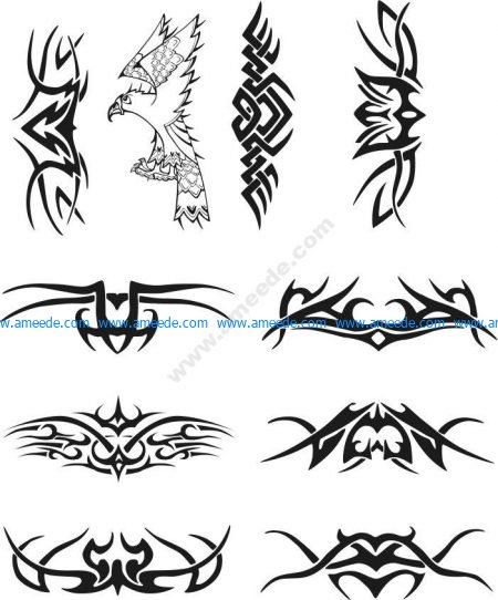 pattern of spiders