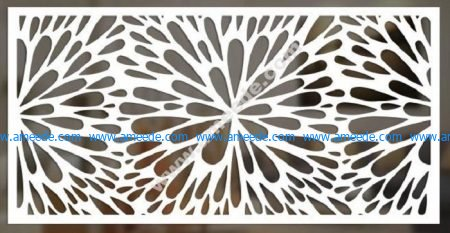 cnc cut pattern vector file 4