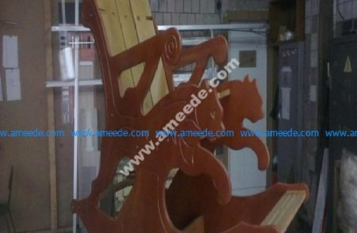 CNC Chair free laser cutting projects