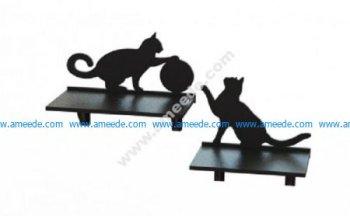 Laser Cut Cat Shelf