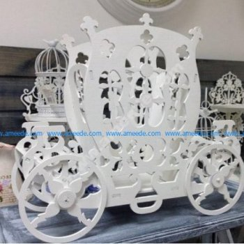 Laser Cut Stagecoach Template